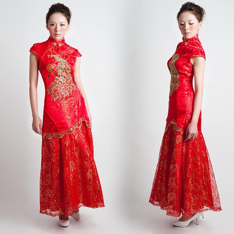 Платье Ципао Gui Jin 1009 2012 Lf1009