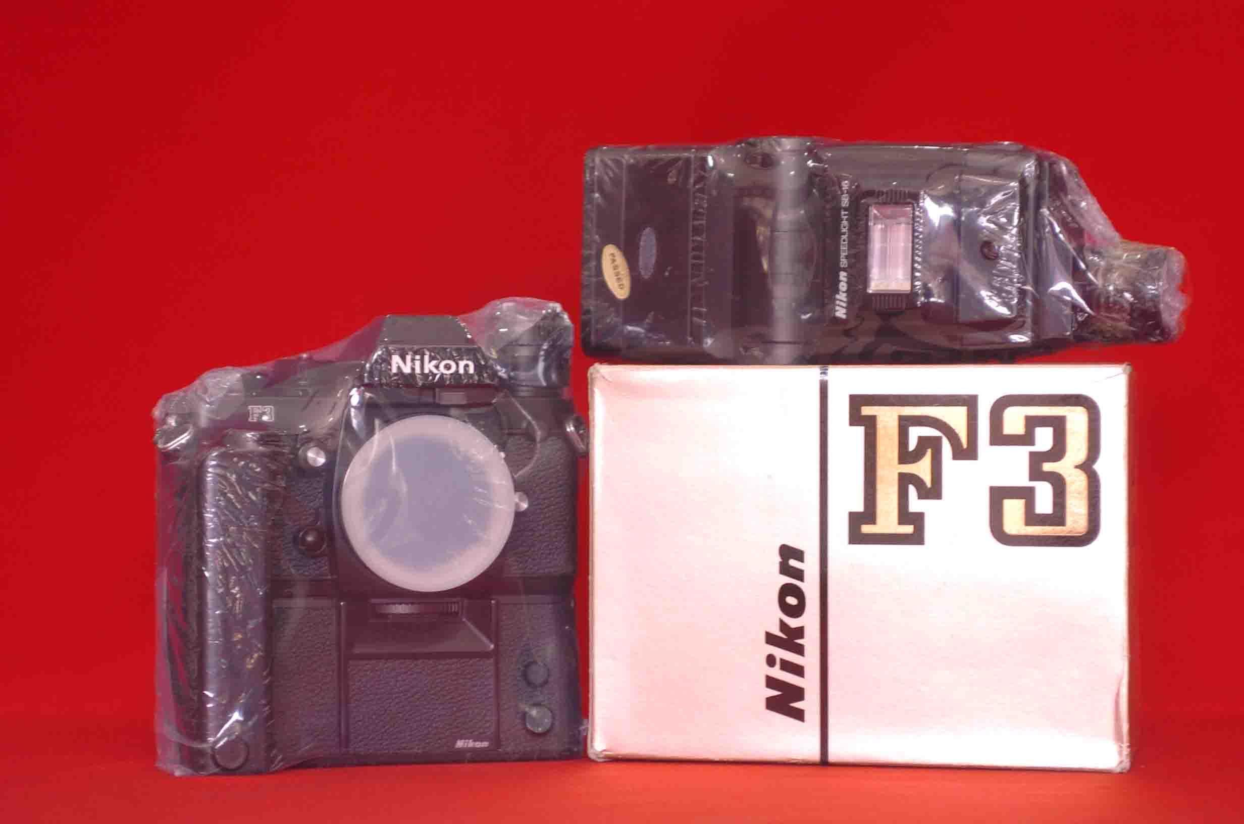 SLR-камера NIKON  F3 +SB16 +MB--4