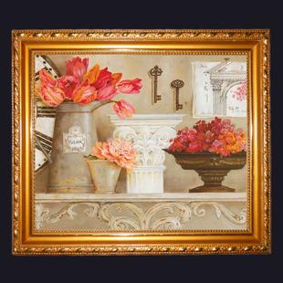 艺术 盆景 插花 壁画 挂画 油画 家居现代装饰画 墙画 有框画