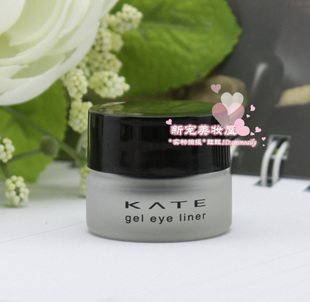 Spot jiana Po Kanebo KATE eyeliner waterproof lasting eyeliner gel package email genuine new brushless
