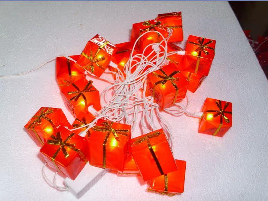 Гирлянда Кубик льда привело свет новый год фонарь строки лампы Рождество огней праздник огней подарок лампа длиной 3 м