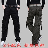 2012 new special stamp women camouflage overalls pants leisure pants girl pants waist bag woman trousers