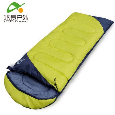 5秒速热 户外可拼接成人睡袋 1.5kg 49元包邮 同款京东126元
