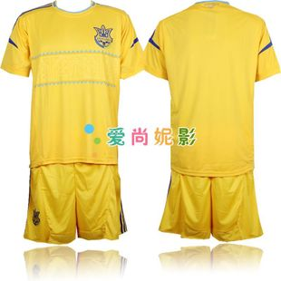 12-13 Ukraine national team football football football clothes suit suits  game clothing clothes children