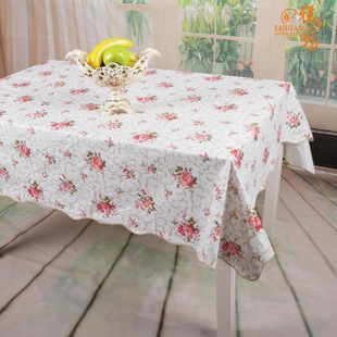 Waterproof and oil-free heat-resistant PVC tablecloth, agile workshop wash cloth WTL094