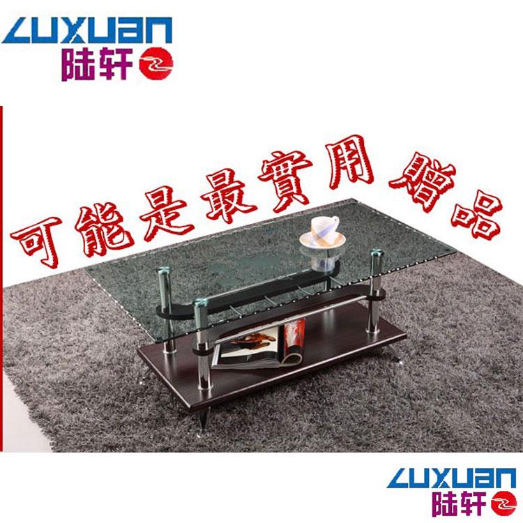 Чайный столик Lu Xuan Furniture Стиль минимализм Без колесиков Плиточная, панельная отделка Из стекла