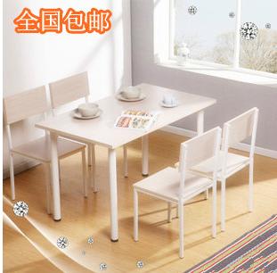 Стол обеденный Дамп почты ~ ~ ~ специальные моды таблицы таблица таблица таблицы таблица и Председатель комбинации твердых древесины IKEA простоты