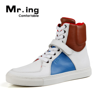 Mr.ing new fashion trends and  city light leather lounge high help shoes men's shoes F1178