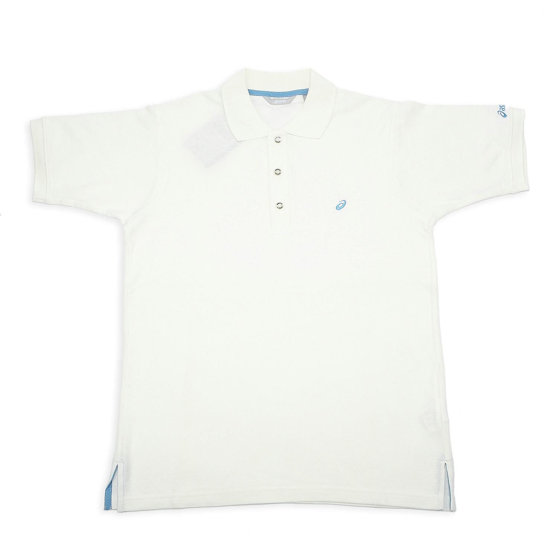 Рубашка поло Asics xaz731/0200 POLO XAZ731-0200 Для мужчин 100 хлопок Стандартный Короткие рукава ( ≧35cm ) Логотип бренда % Для спорта и отдыха