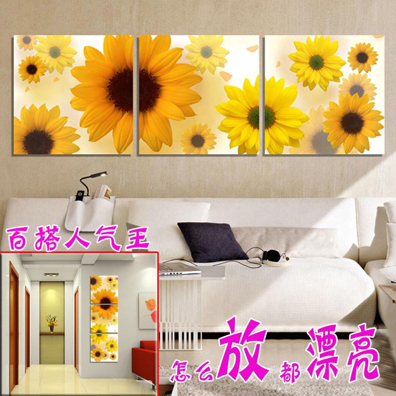 Фреска Kim Jun ranking Цветы Без рамки