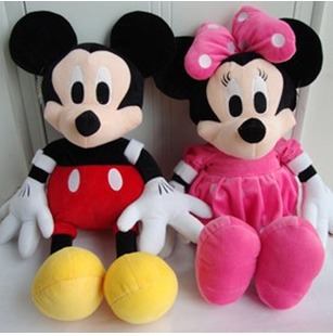 plush toy couple doll a genuine pressure bed dolls children Dolls