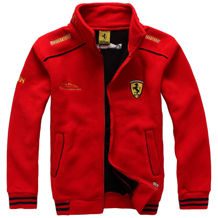 Men S Clothing F1 Ferrari Racing Suit New Winter Coat Jacket Sweater Thin Sweatshirt Team Super