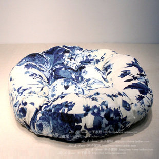 Japanese and Chinese ink painting  wind cotton linen cushion