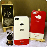 Vip shop iphone4 4s common couple cellphone shell personalized fashion style couple relationship