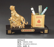 Office decoration supplies business gifts * birthday * huxiaoshan River and is satisfied that the financial Tiger pen holder