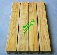 香樟木地板 实木地板 400*900MM 浴室 玄关 花园 阳台地板