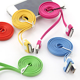 Rui m Apple 4 iphone4 ipad2 ipad3 iphone4S data cable color pasta charging cable