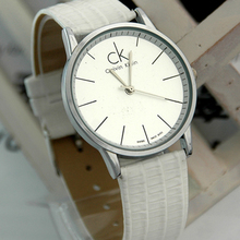 Calvin Klein CK Mens Watch cinturones de Corea Moda relojes impermeables nuevos relojes blanco 2011