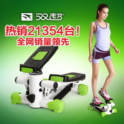 Double super mute genuine home fitness equipment multifunction mini stepper exercise equipment to lose weight is a foot machine