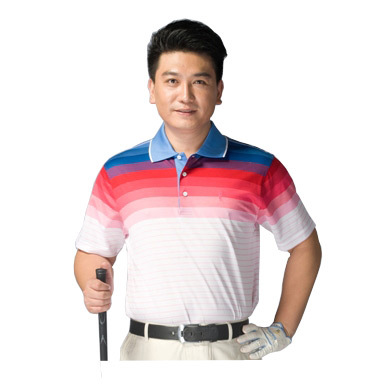 Prototype of new short-sleeved men sports golf mercerized cotton T-shirt / T-shirt fashion vitality Fighter