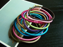 Super elastic number string South Korea kknekki brand quality goods hair ring hair rope 13 color hairpin headdress