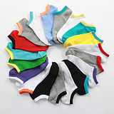 10 Pair of Socks in the Summer Men's Stealth Thin Light At Candy-colored Male Boat