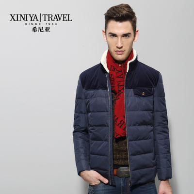 Virginia Men star models down jacket winter 2014 men's casual short paragraph Slim coat Y2AS46774
