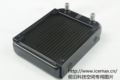 Export superdense black aluminum fins 120 12cm 12 CM cooled exhaust, heat sink