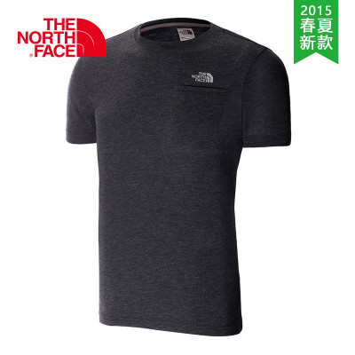 【2015春夏新款】THE NORTH FACE/北面  男款速干短袖T恤  CFY7