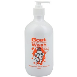 澳洲代购Goat Body Wash Oatmeal 500ml 山羊奶燕麦沐浴露