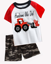Household to take children go out take my pajamas short-sleeved summer suit cotton cute eight 2 package mail 4 parts and polite