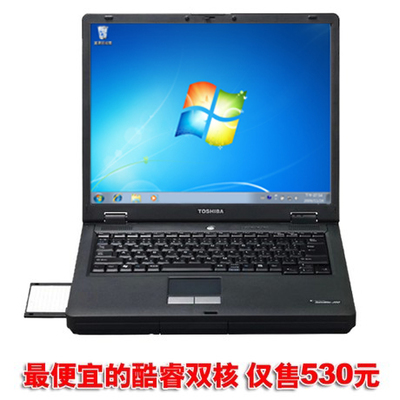 Used Laptops Toshiba J50 J60 J70 J80 15-inch high-definition screen cheapest dual-core computer
