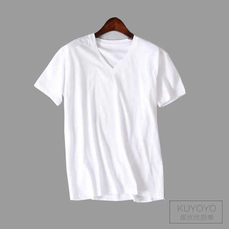 大码男士莫代尔T恤 酷爽速干男士短袖运动T恤衫