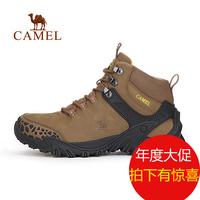 【2016新品】CAMEL骆驼户外登山鞋 男士透气耐磨减震登山鞋