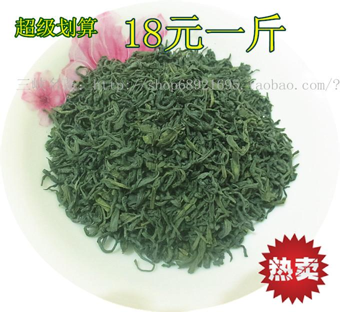 茶叶 散装 绿茶 草青茶叶 耐泡 味重 厚实醇正 粗茶 超市3.8 批发图片