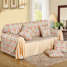 Pure cotton sofa cushion sofa cover sofa cover double, three imperial concubine sofa cover cover all rural Europe type can be customized