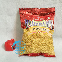haldiram's snacks 印度小吃开袋即食咖喱零食 BHUJIA 印式小薯条