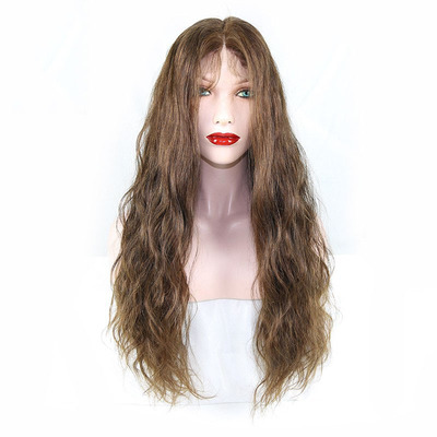 full lace wig/front lace wig高级定制全蕾丝人发头套长卷发4/27