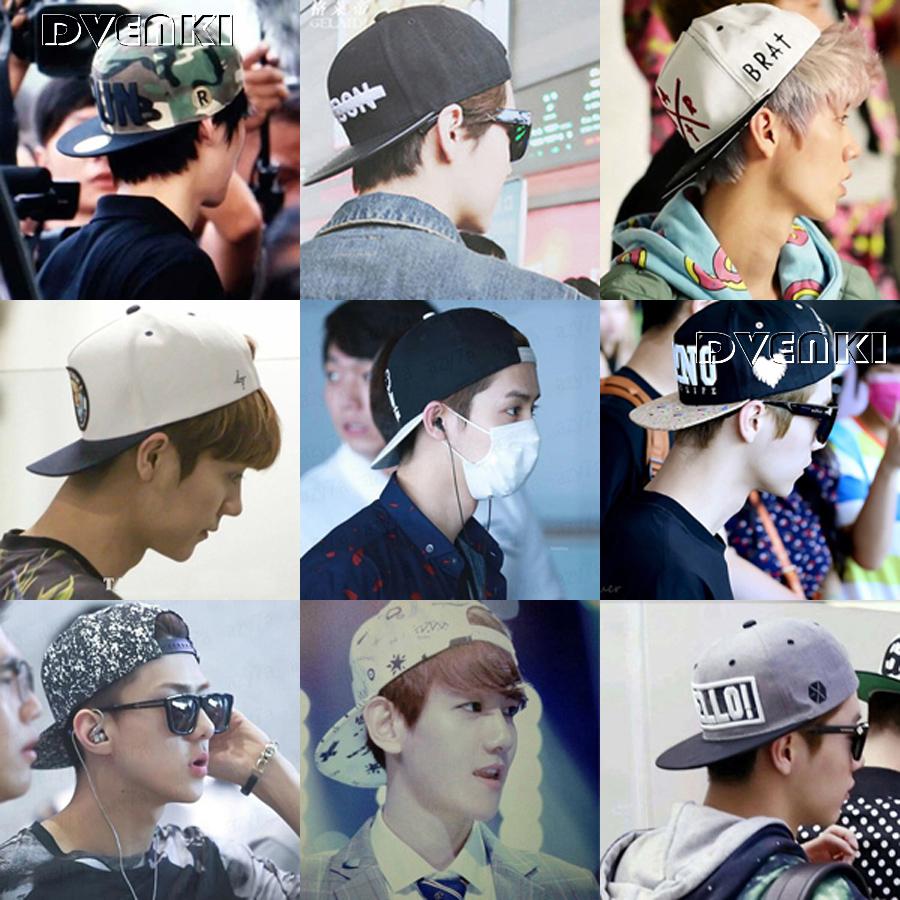 帽子户外平沿板帽嘻哈帽明星同款帽夏季男帽鸭舌帽女棒球帽韩版帽