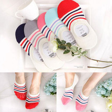 Anti stealth socks off female summer with the south Korean ship stockings socks wholesale leg warmers shallow mouth VIVID COLOR cotton socks