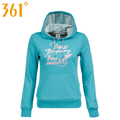 361-degree motion-sleeved hooded sweater hedging 2014 new winter sports blouses 361 561439621