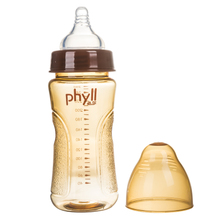 Phyll will, silver ions pes bottle baby baby drop against the bilge gas bottle South Korea imported packages mailed