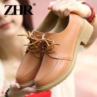 ZHR England fall flat shoes with flat shoes women shoes flat shoes casual shoes ladies shoes A02