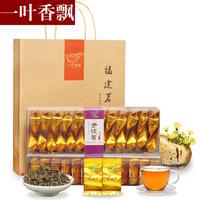 一叶香飘 金骏眉茶叶 福建特产武夷山红茶桐木关小种茶叶花香500g