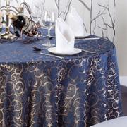 酒店桌布椅套餐厅饭店台布家用餐桌布茶几大圆桌桌布欧式椅套定制