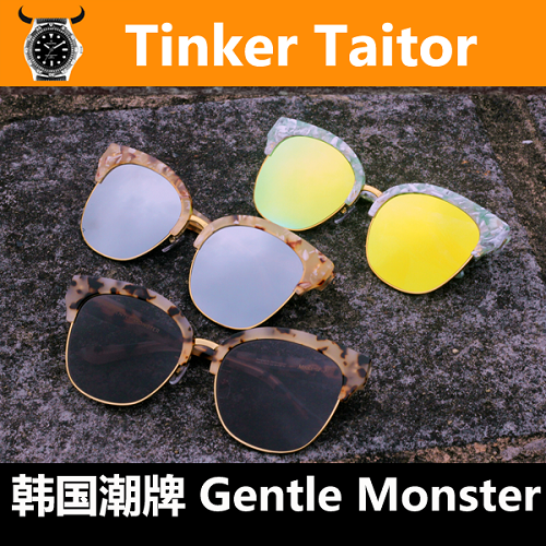 【Tinker Tailor】GENTLE MONSTER MADAME.M半框太阳眼镜女士墨镜