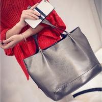 2015新款欧美女式潮秋冬大容量女包单肩包手提包子母包简约大包包