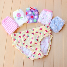 Foreign trade baby underwear single little cute baby girl baby cotton lace underwear color/article 3.8