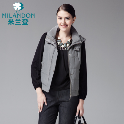 Milan Deng autumn fashion women vest hooded vest vest vest jacket coat autumn and winter women's WE450019