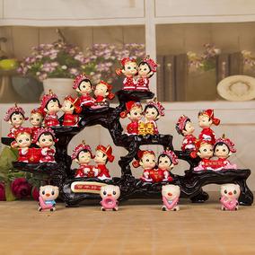 祥泰家 创意结婚礼物送闺蜜新婚礼品 实用高档朋友婚庆房家居摆件